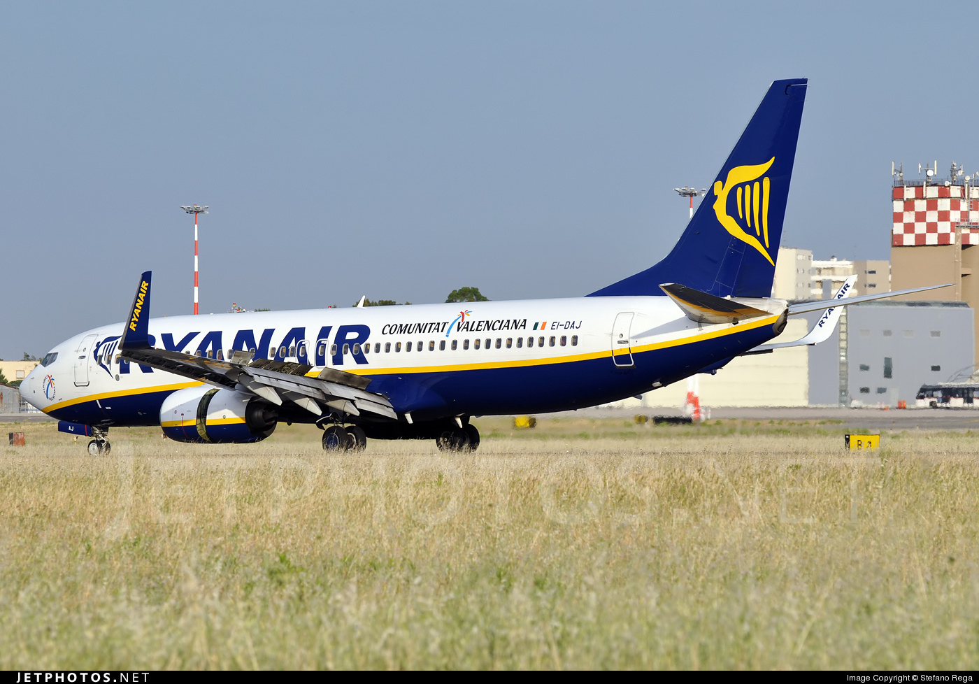 EI-DAJ - Boeing 737-8AS - Ryanair