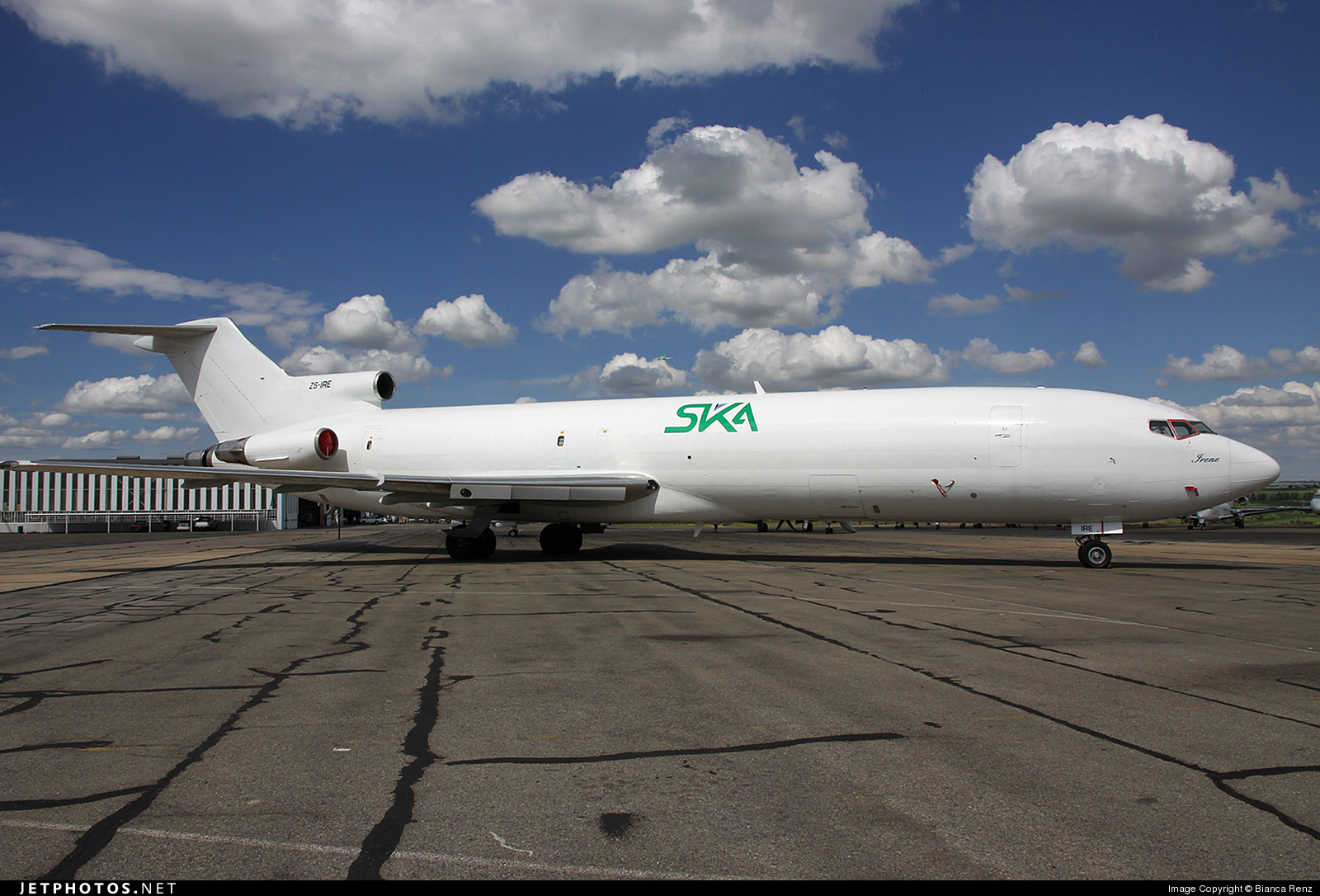 ZS-IRE - Boeing 727-2Q9(Adv)(F) - SKA International Group