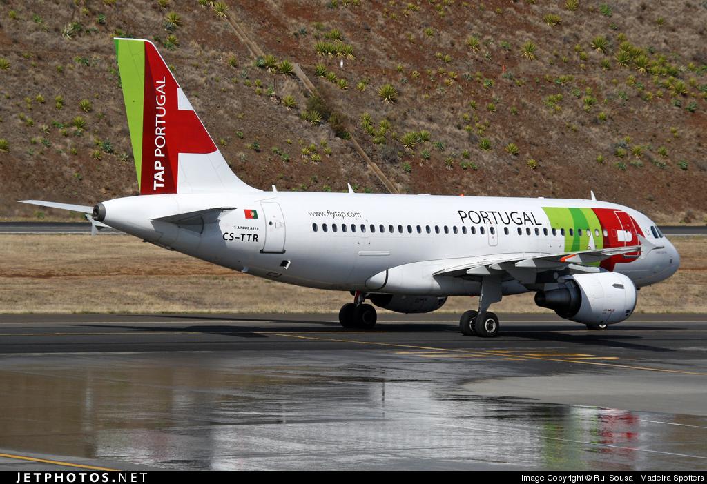 CS-TTR - Airbus A319-112 - TAP Portugal