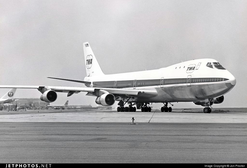N93101 - Boeing 747-131 - Trans World Airlines (TWA)