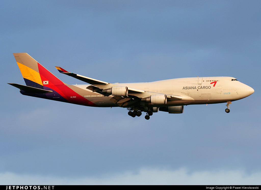 HL7413 | Boeing 747-48E(BDSF) | Asiana Cargo | Pawel ...