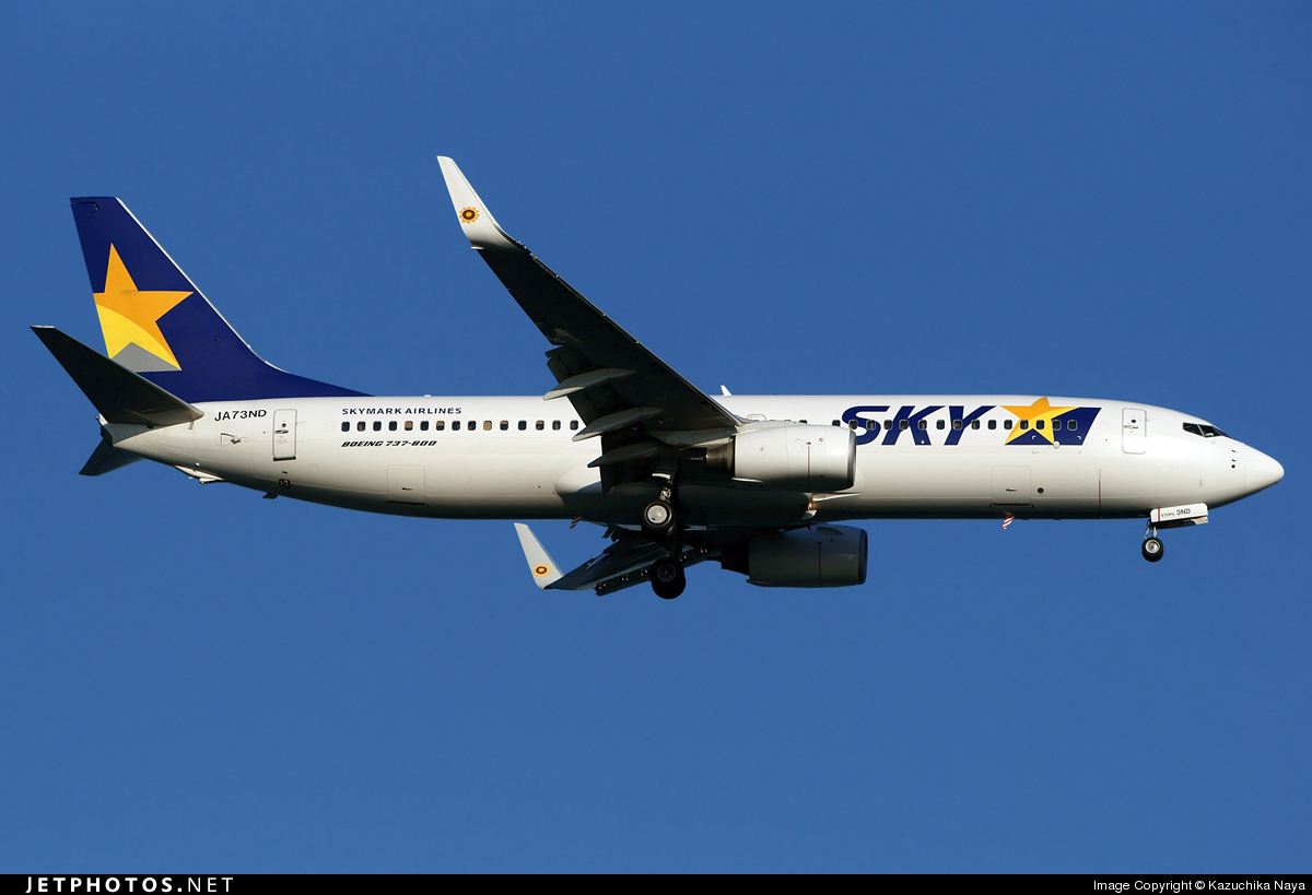 JA73ND - Boeing 737-8FZ - Skymark Airlines