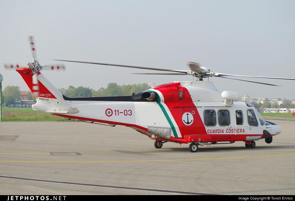 MM81748 - Agusta-Westland AW-139CP - Italy - Coast Guard