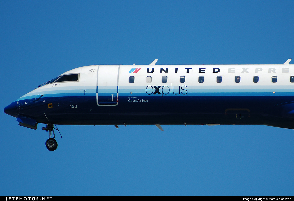 N153GJ - Bombardier CRJ-701 - United Express (GoJet Airlines)