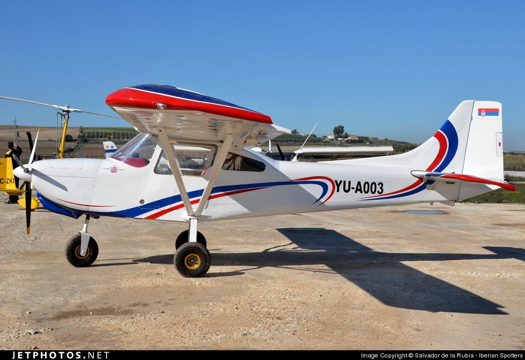 YU-A003   Aero-East-Europe MXP-140   Private   Salvador de