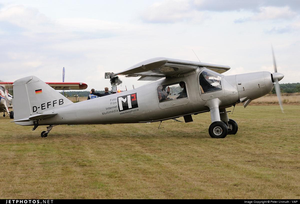 D-EFFB - Dornier Do-27A1 - Private