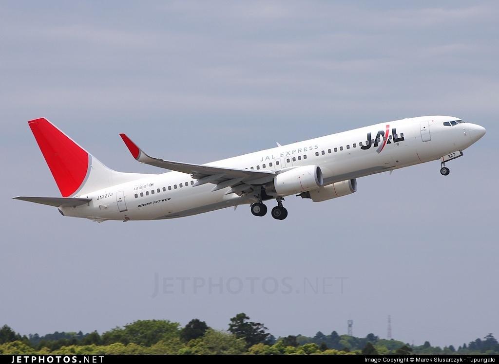 JA327J - Boeing 737-846 - JAL Express