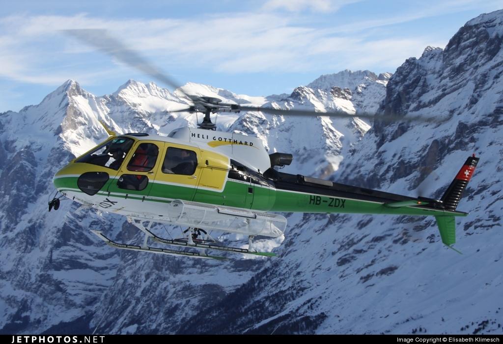 HB-ZDX - Eurocopter AS 350B3 Ecureuil - Heli Gotthard