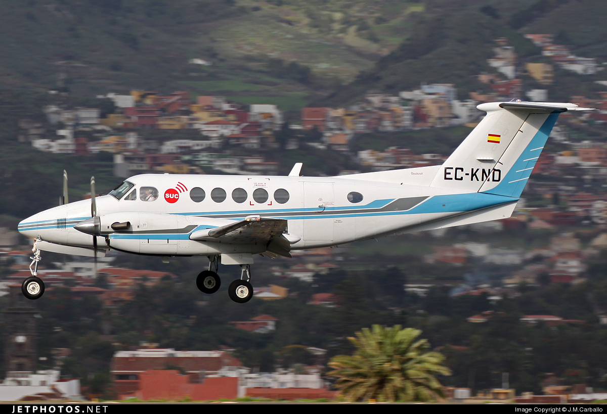 EC-KND - Beechcraft B200 Super King Air - Urgemer Canarias
