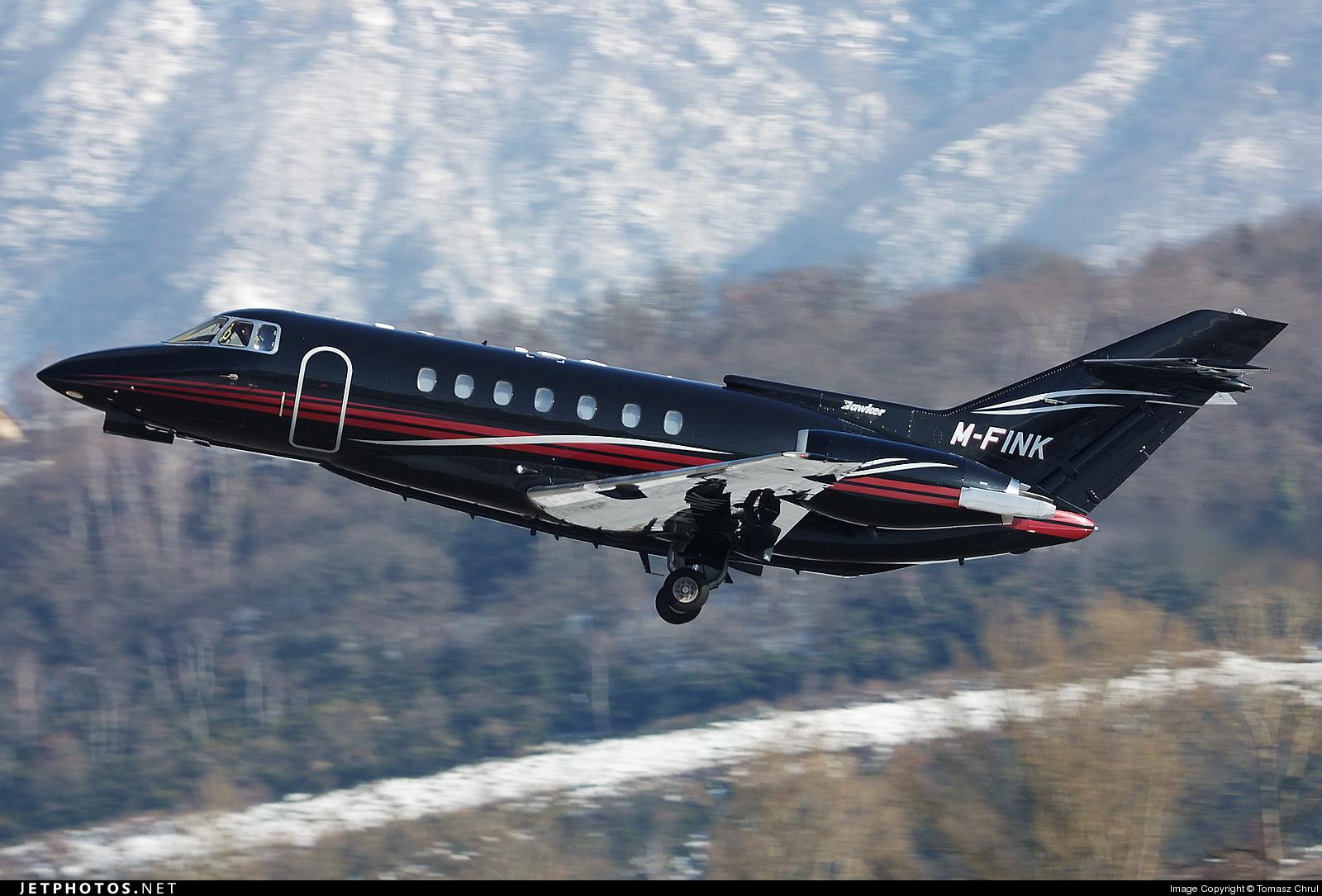 M-FINK - British Aerospace BAe 125-1000B - Private