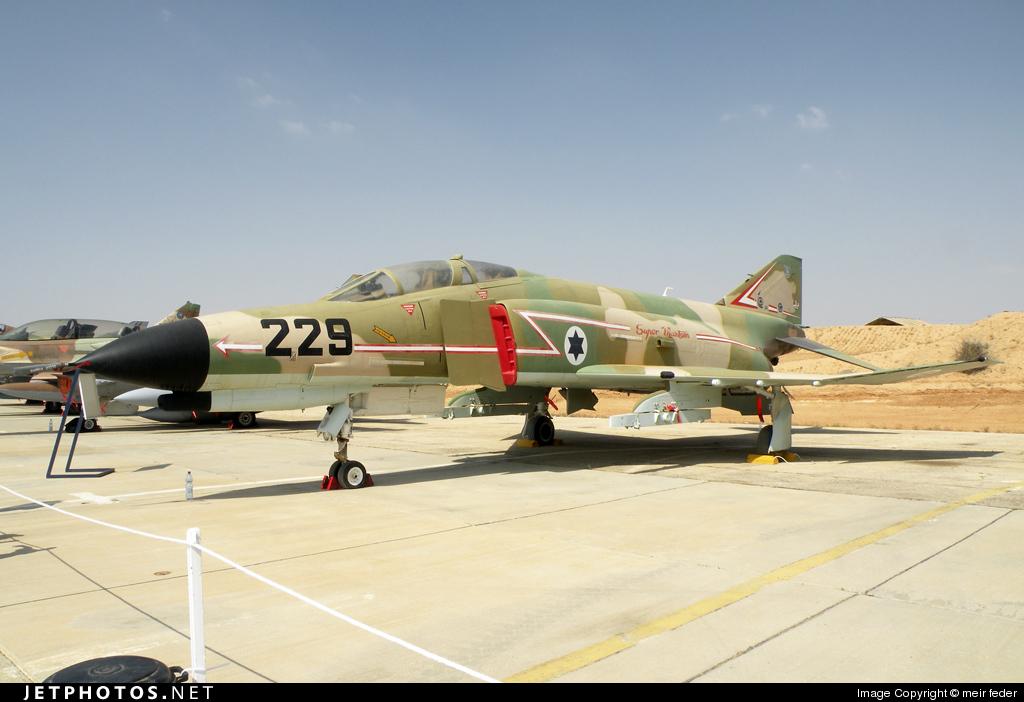 229 - McDonnell Douglas F-4E Kurnass - Israel - Air Force