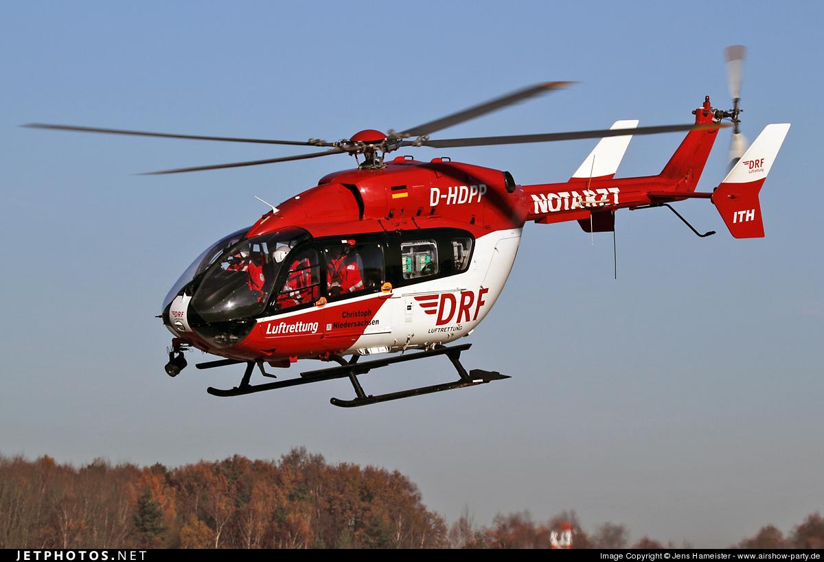 D-HDPP - Eurocopter EC 145 - DRF Luftrettung