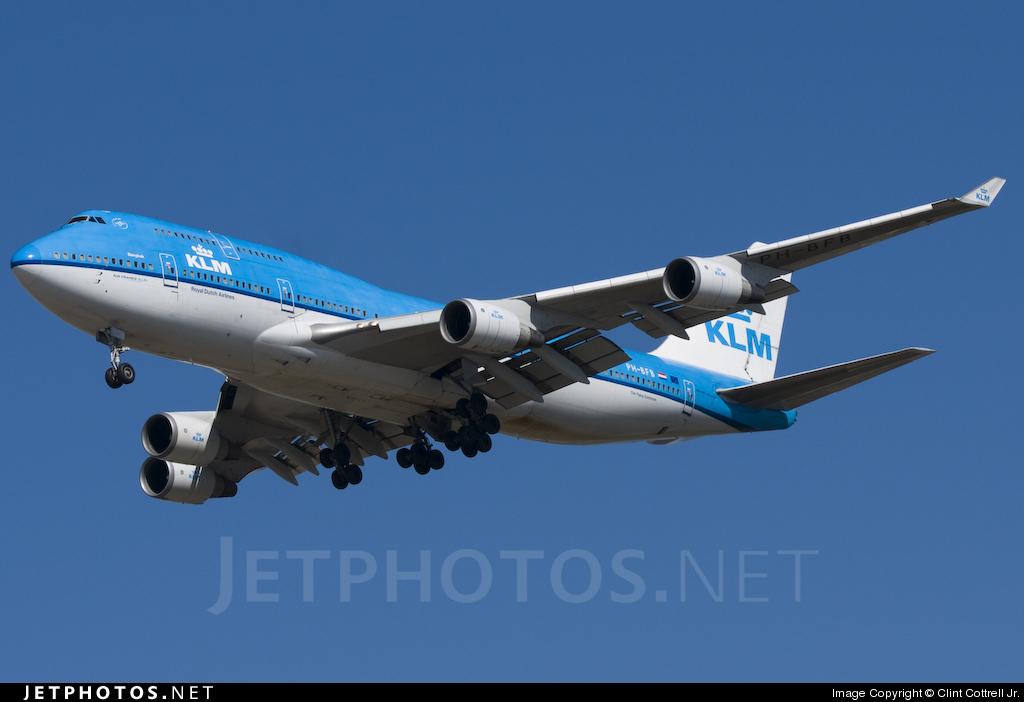 PH-BFB - Boeing 747-406 - KLM Royal Dutch Airlines