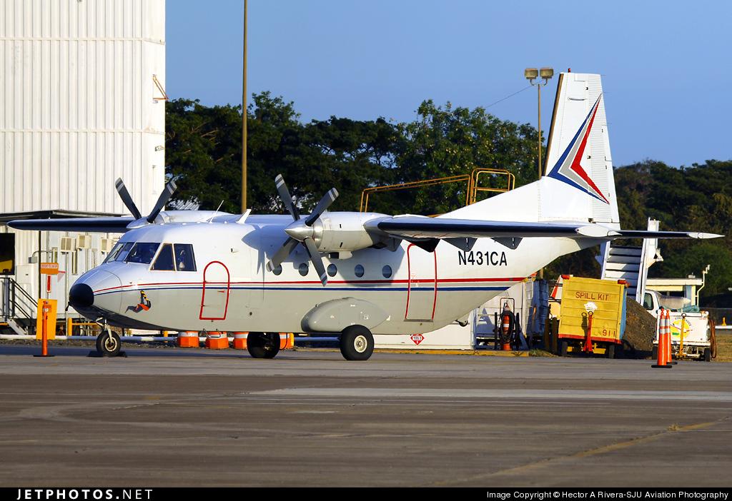 N431CA - CASA C-212-200 Aviocar - Private