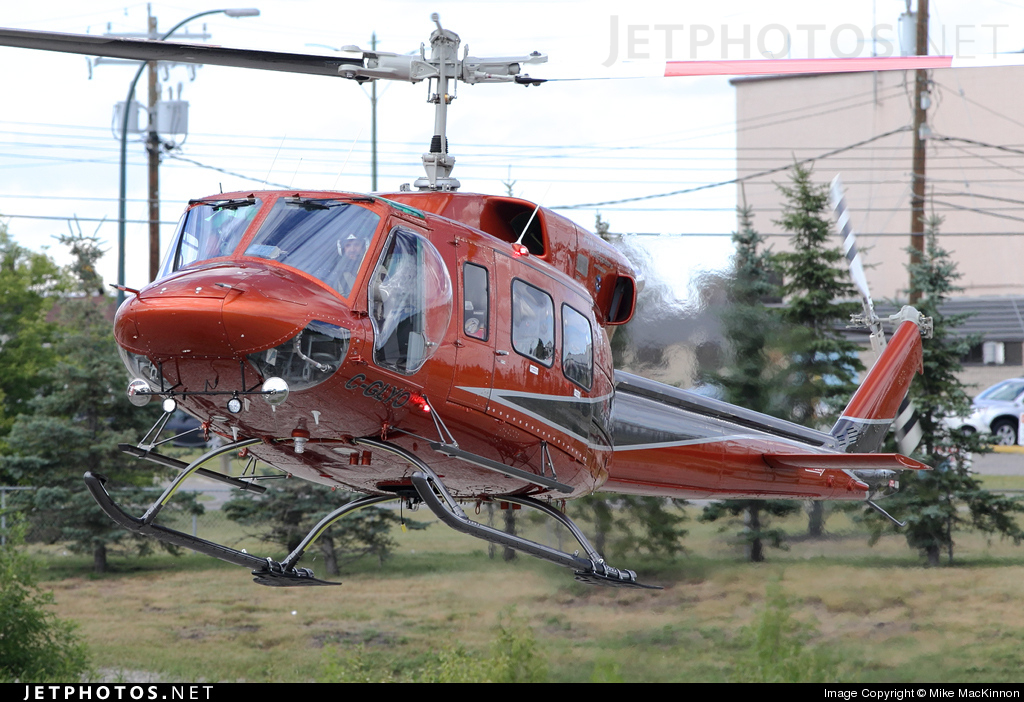 C-GLYO | Bell 212 | Airspan Helicopters | Mike MacKinnon | JetPhotos