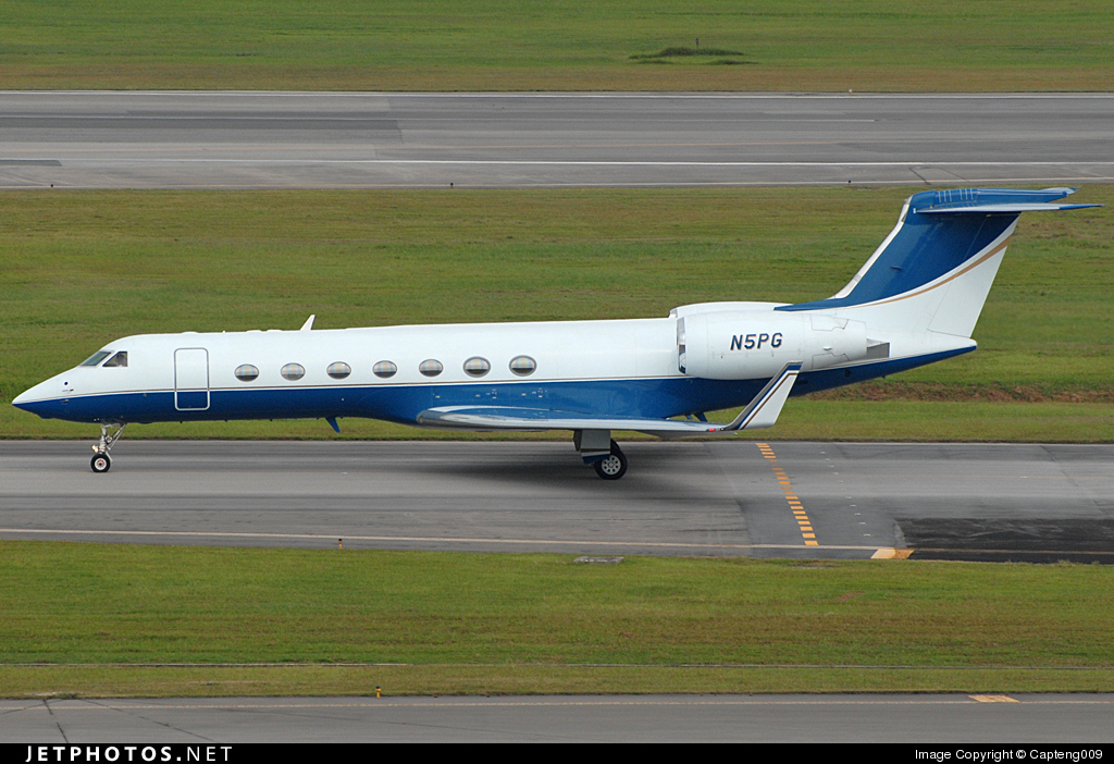 N5PG - Gulfstream G550 - Private