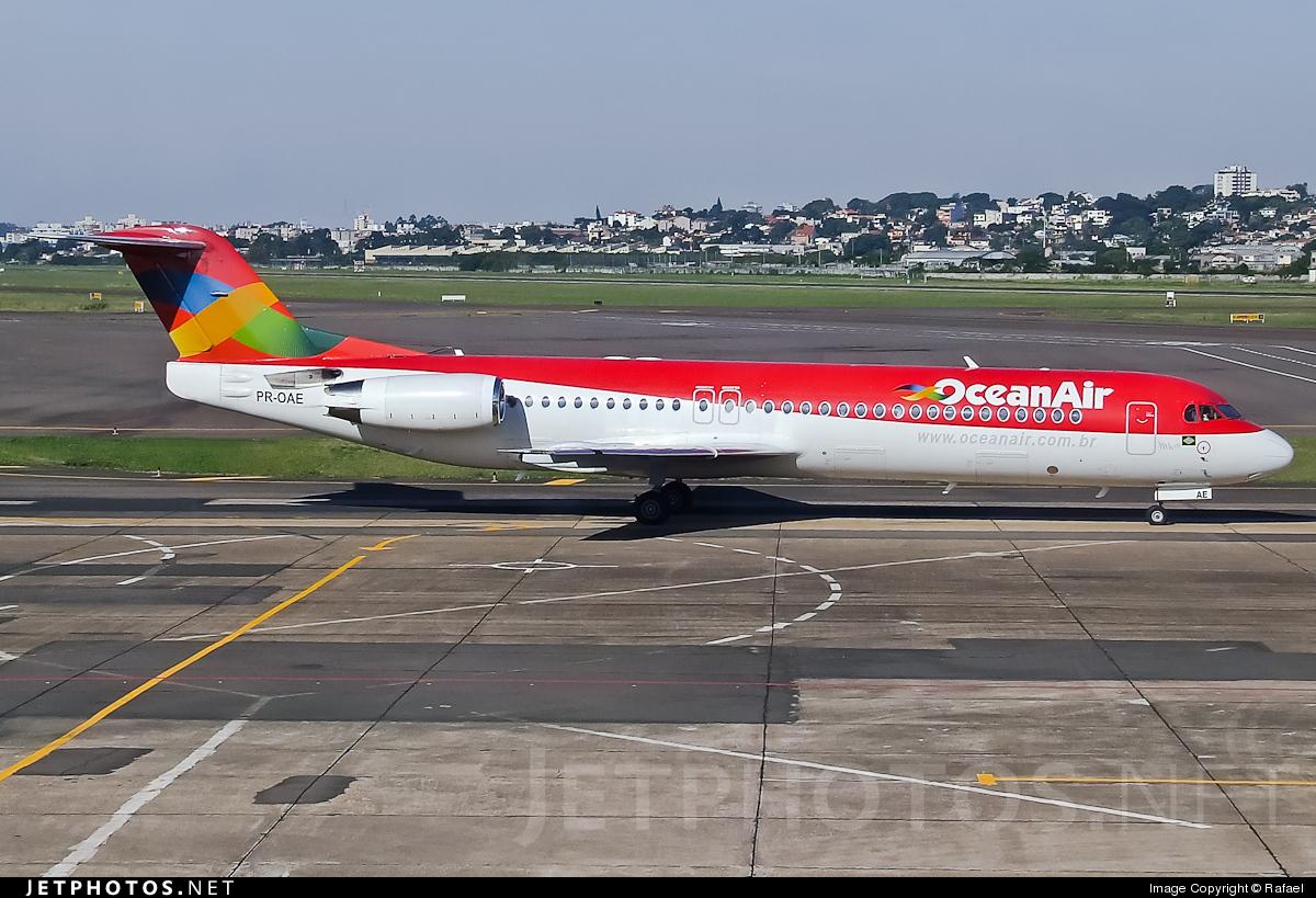 PR-OAE - Fokker 100 - OceanAir