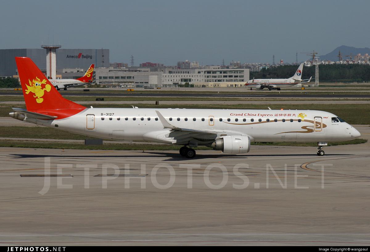 B-3127 - Embraer 190-100LR - Grand China Express