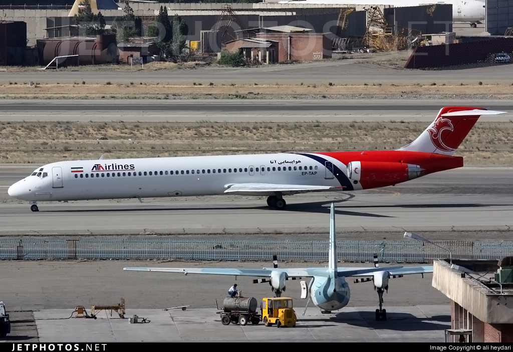 EP-TAP - McDonnell Douglas MD-83 - ATA Airlines [Iran]