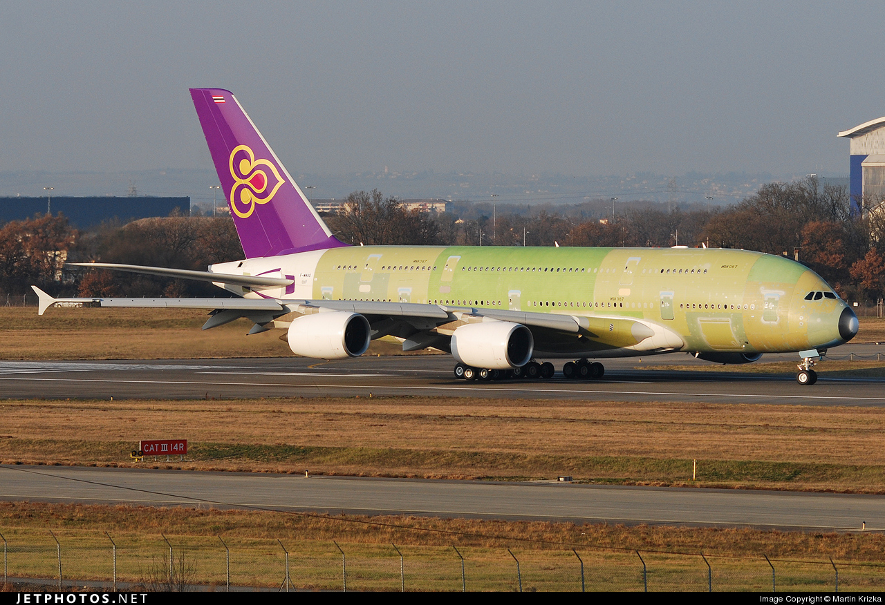 F-WWAO - Airbus A380-841 - Airbus Industrie