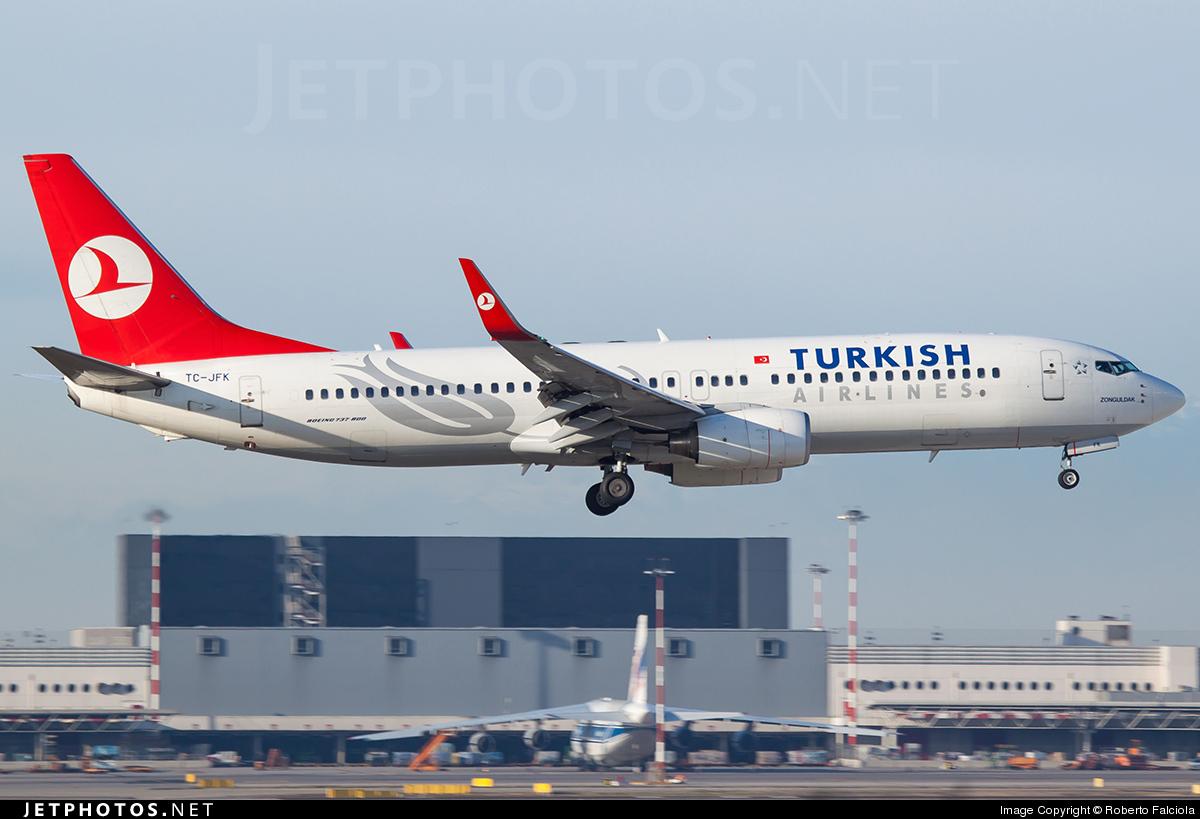 TC-JFK - Boeing 737-8F2 - Turkish Airlines