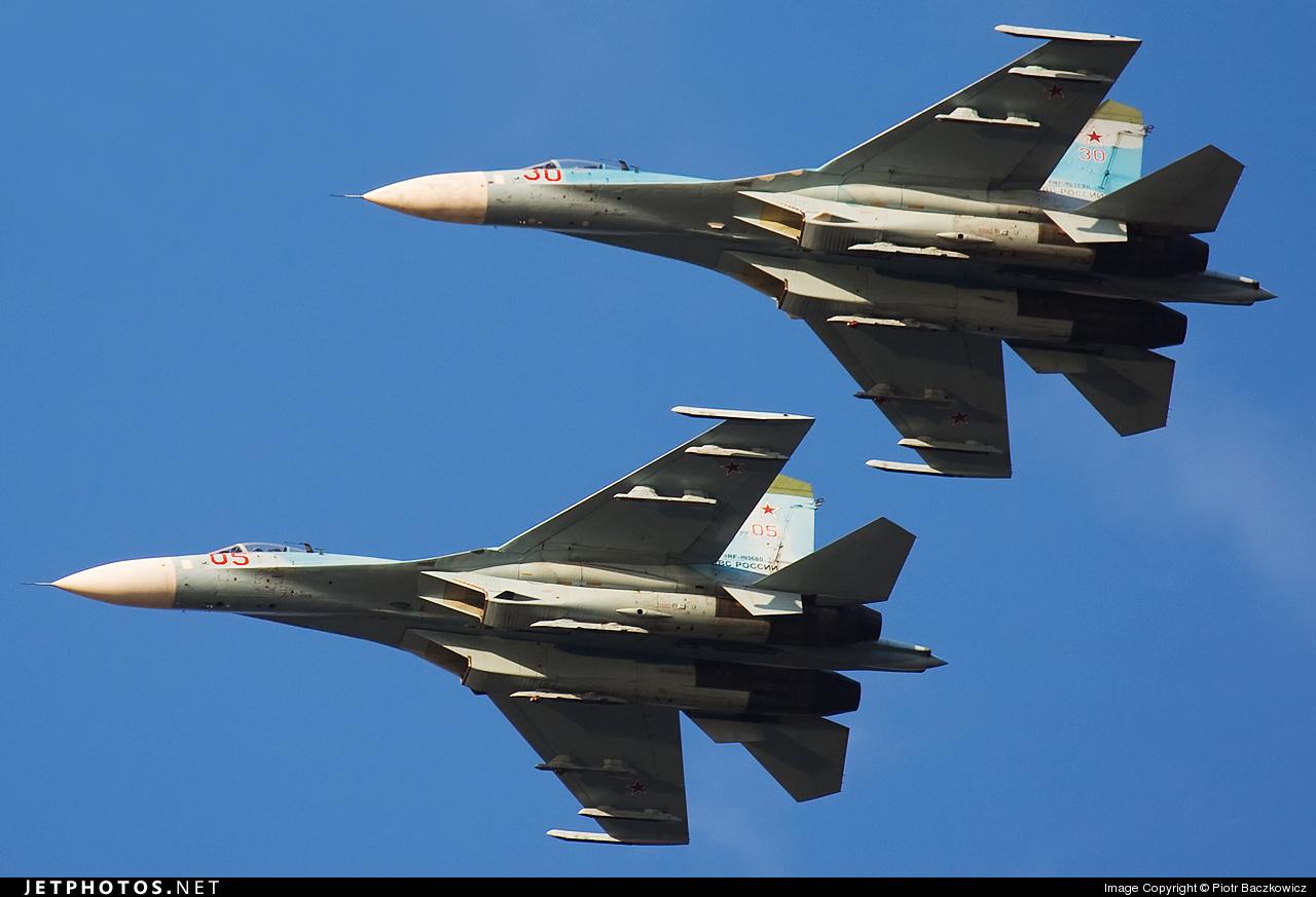 RF-93680 - Sukhoi Su-27 Flanker - Russia - Air Force