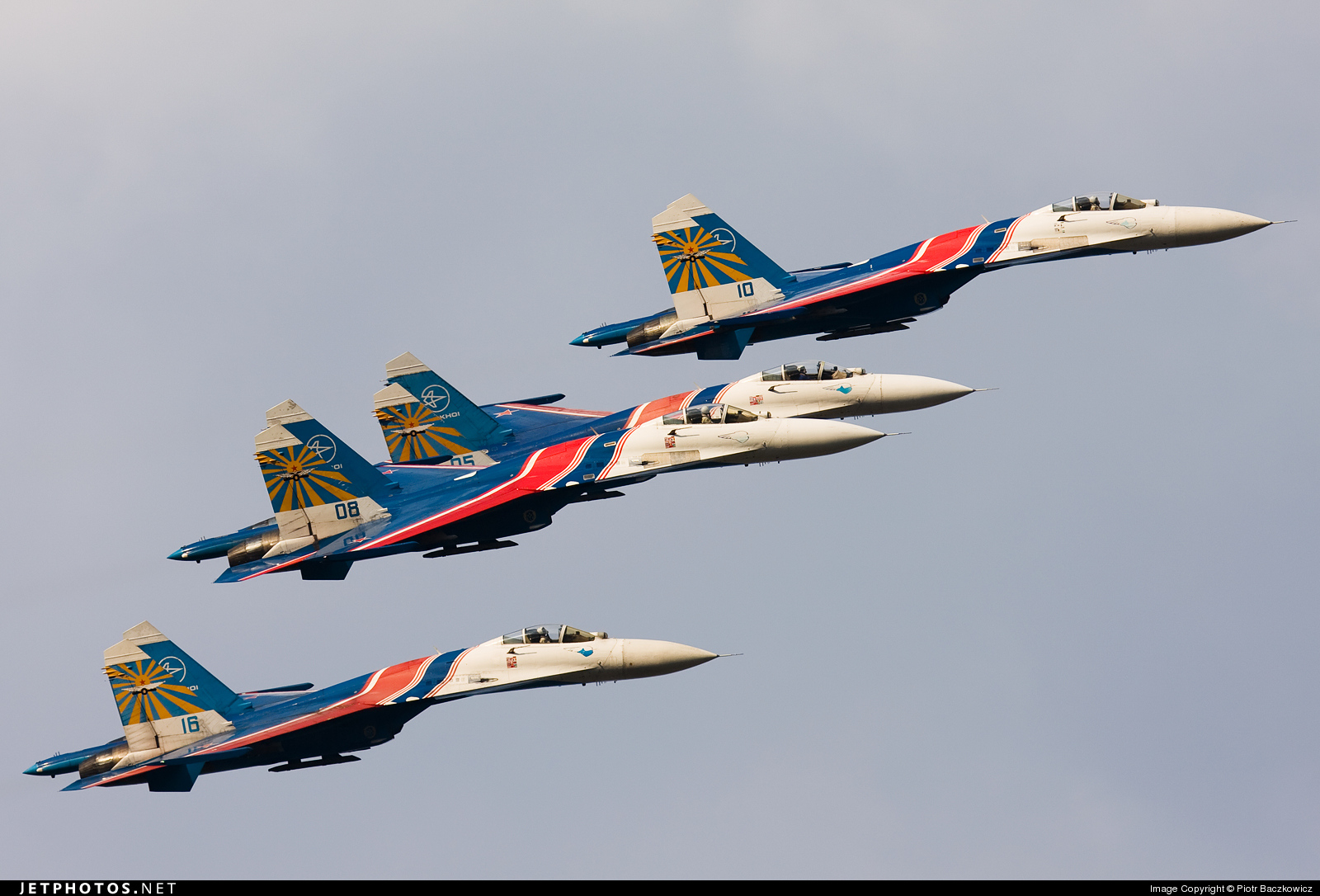 10 - Sukhoi Su-27 Flanker - Russia - Air Force