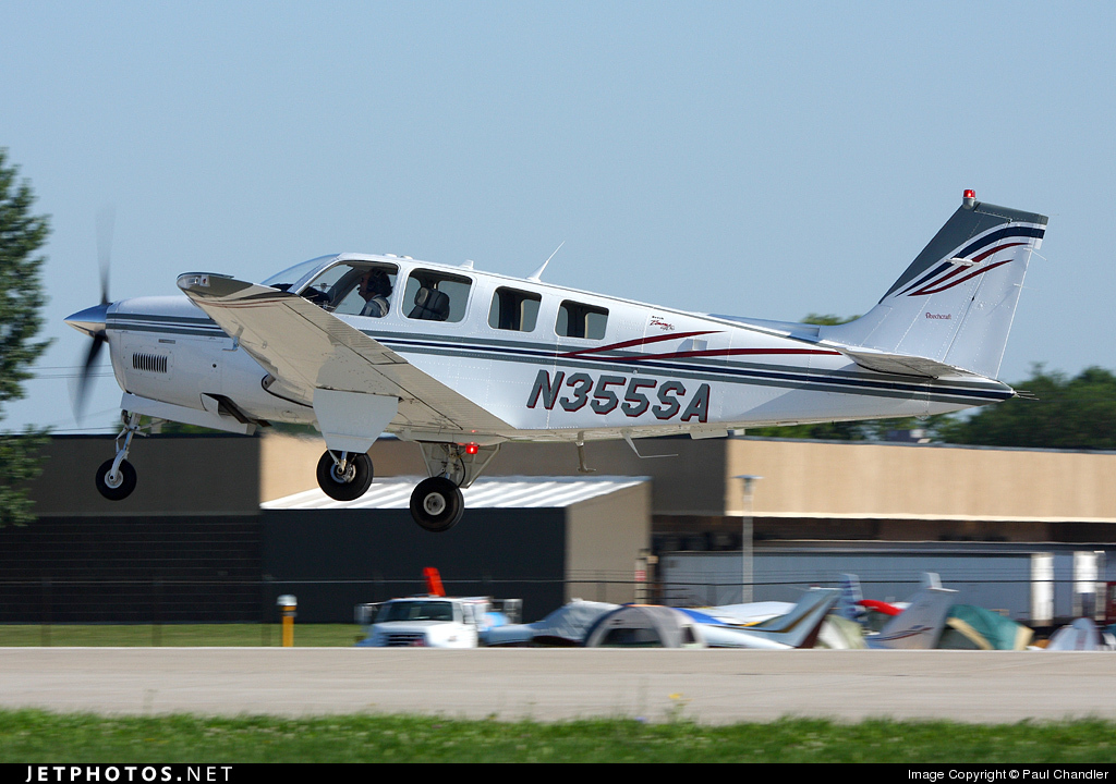 N355SA - Beechcraft 36 Bonanza - Private