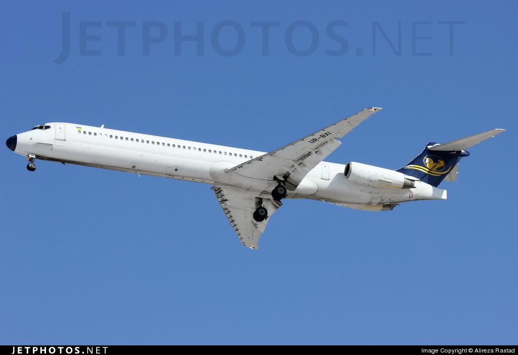 UR-BXI - McDonnell Douglas MD-82 - Iran Air Tours (Bukovyna Aviation Enterprise)