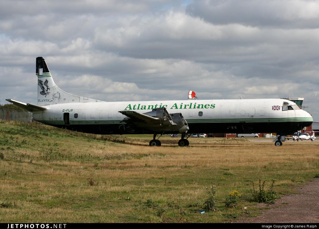 G-FIJV - Lockheed L-188A(F) Electra - Air Atlantique