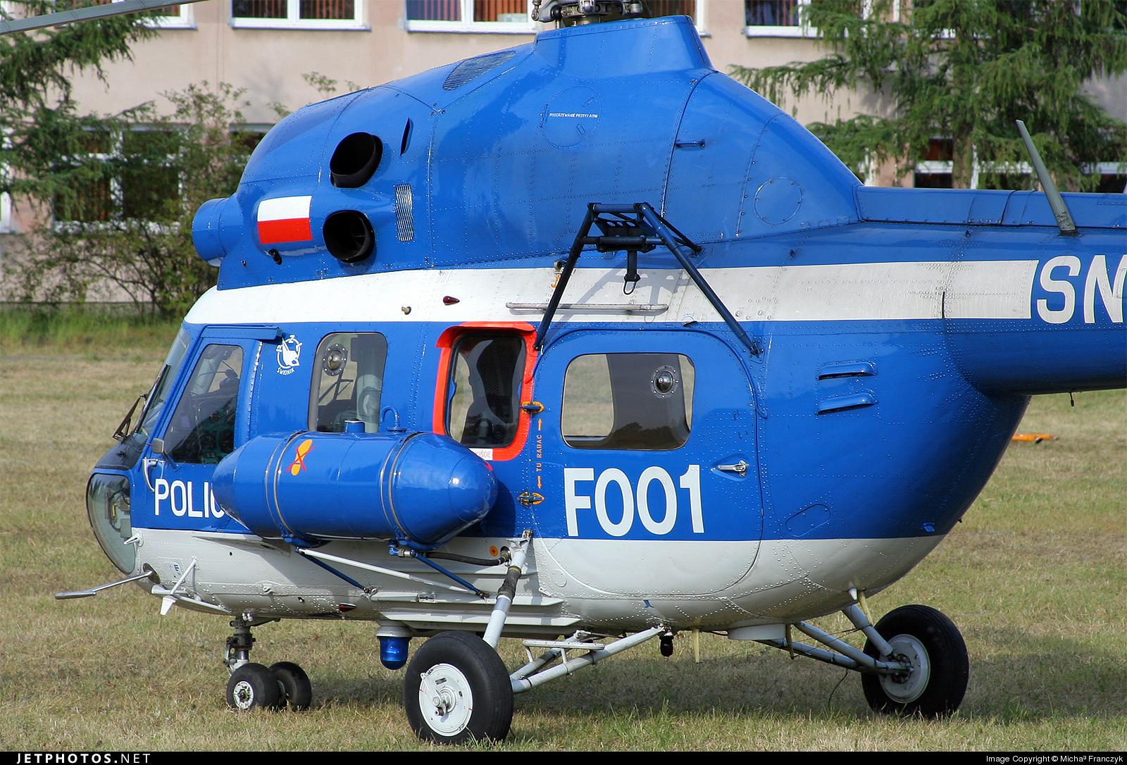 SN-09XP - PZL-Swidnik Mi-2 Hoplite - Poland - Police
