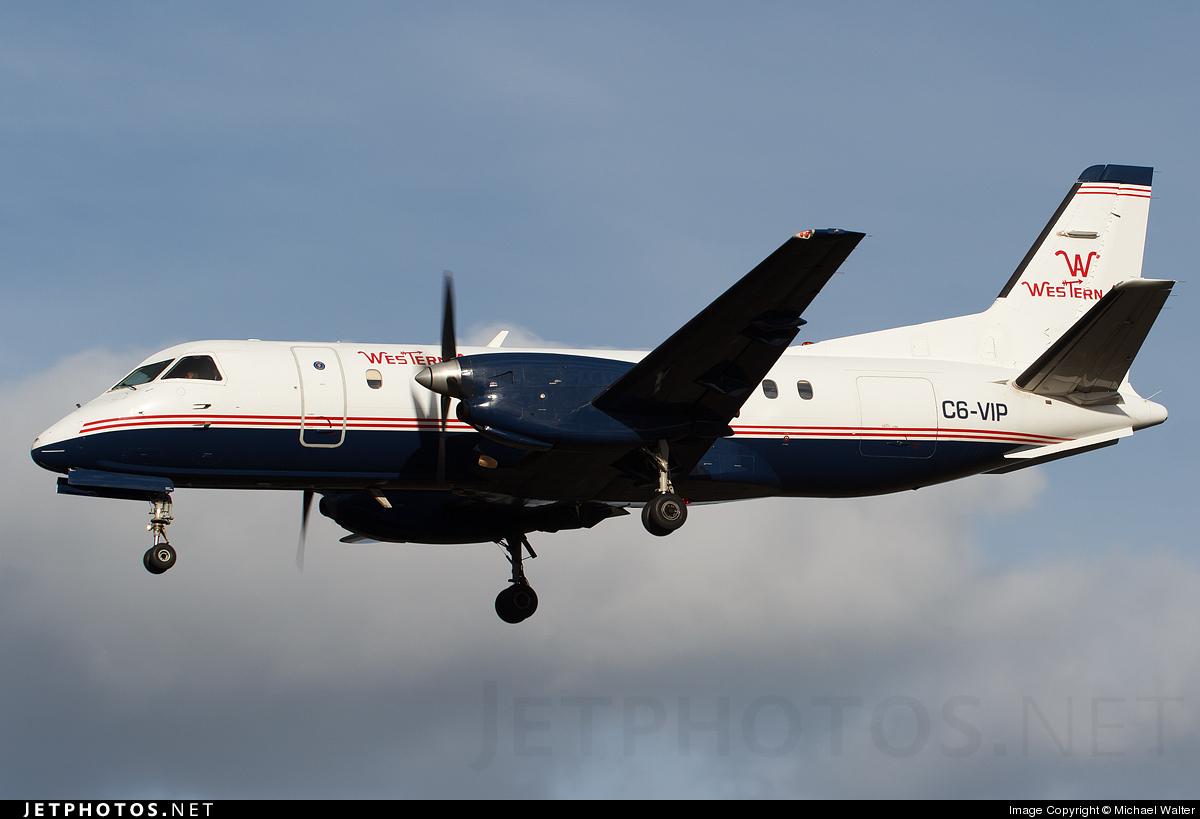 C6-VIP - Saab 340A - Western Air