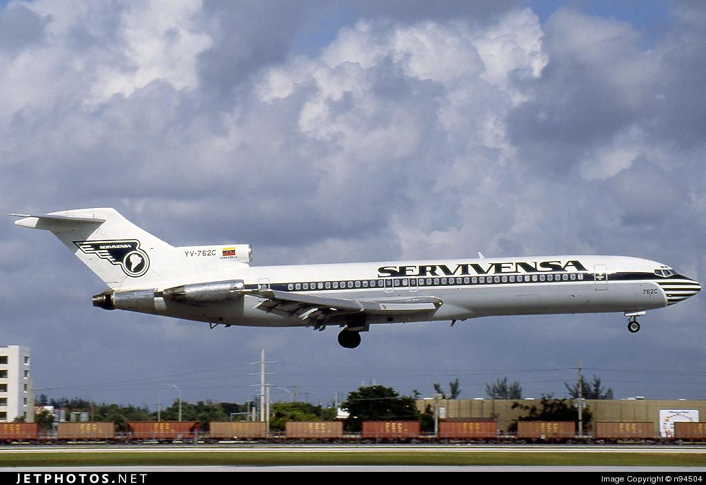 YV-762C - Boeing 727-2D3(Adv) - Servivensa