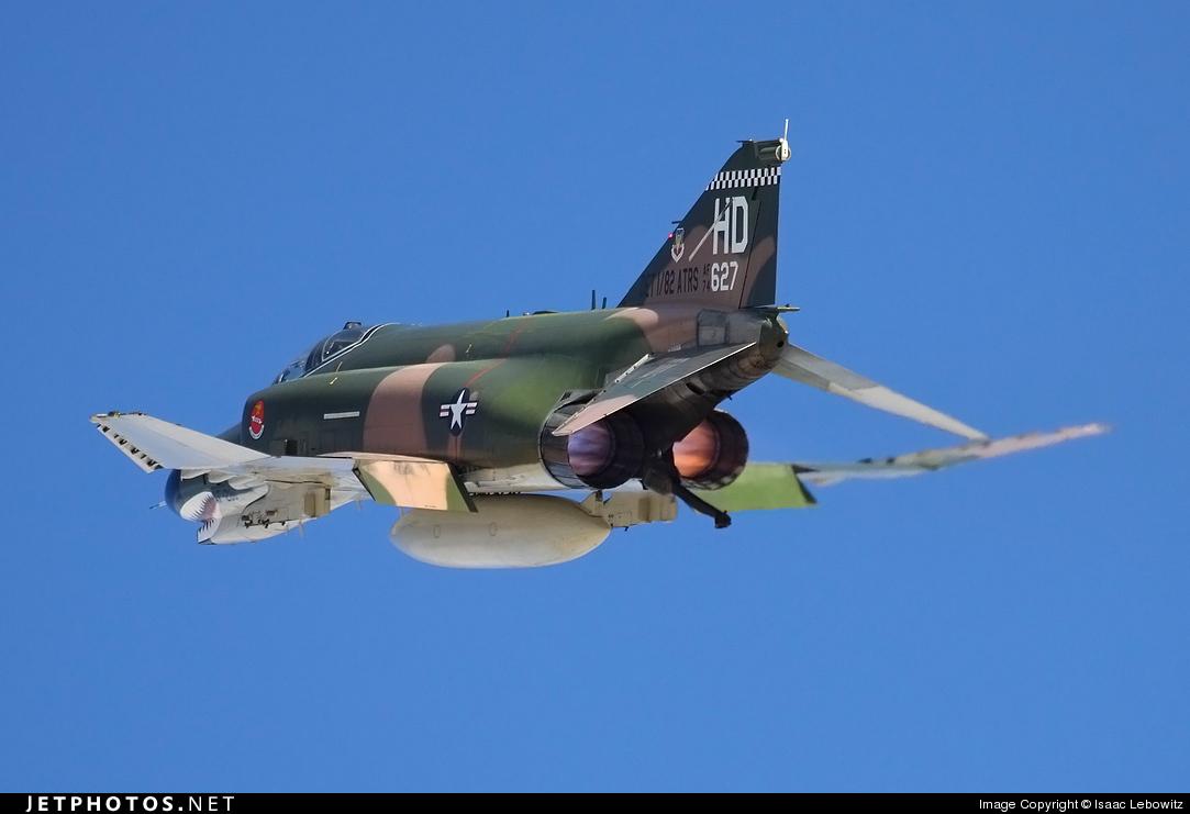 74-1627 - McDonnell Douglas QF-4E Phantom II - United States - US Air Force (USAF)