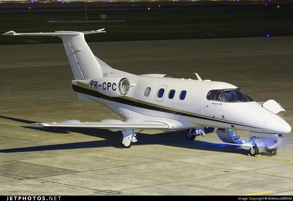 PR-CPC - Embraer 500 Phenom 100 - Private