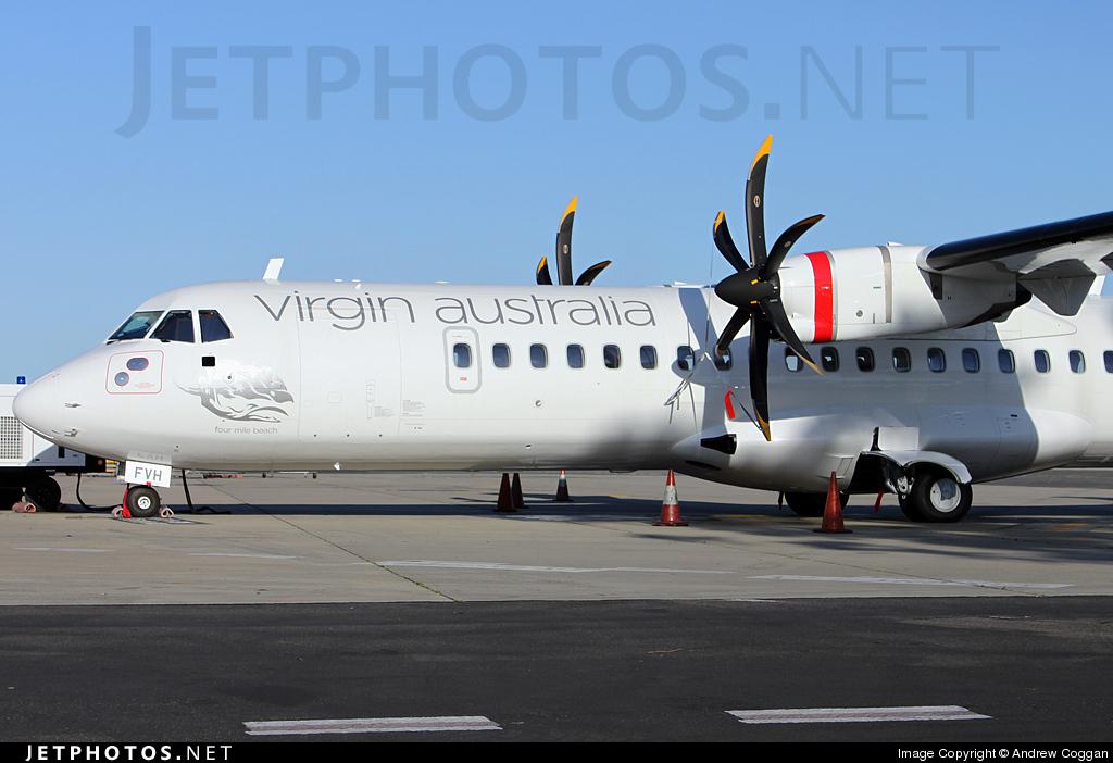VH-FVH - ATR 72-212A(500) - Virgin Australia Regional Airlines (Skywest Airlines)