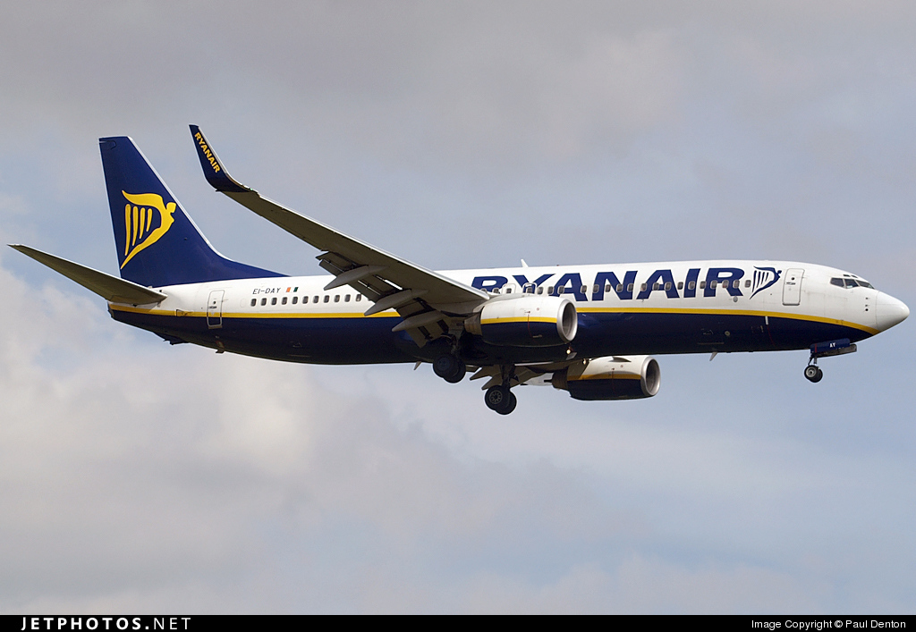 EI-DAY - Boeing 737-8AS - Ryanair