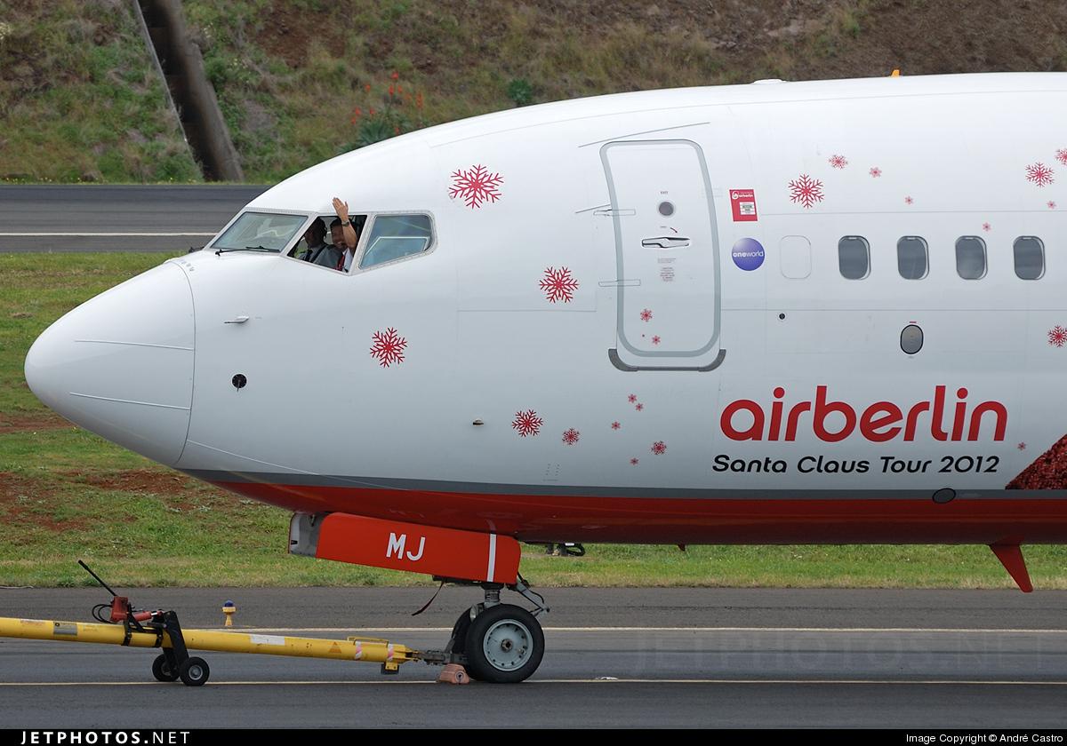 D-ABMJ - Boeing 737-86J - Air Berlin