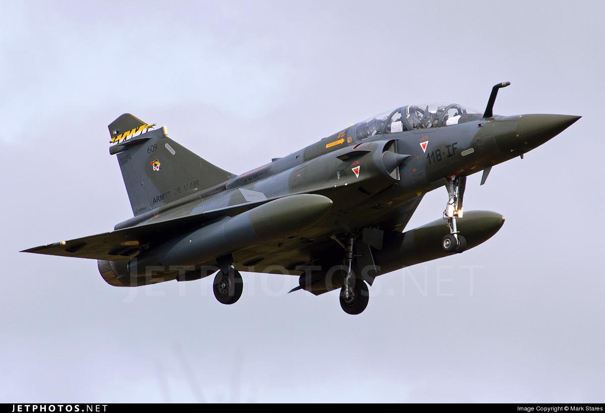 609 - Dassault Mirage 2000D - France - Air Force