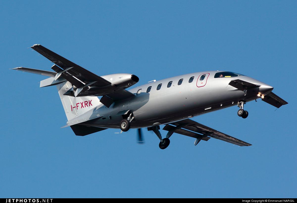 I-FXRK - Piaggio P-180 Avanti II - Foxair
