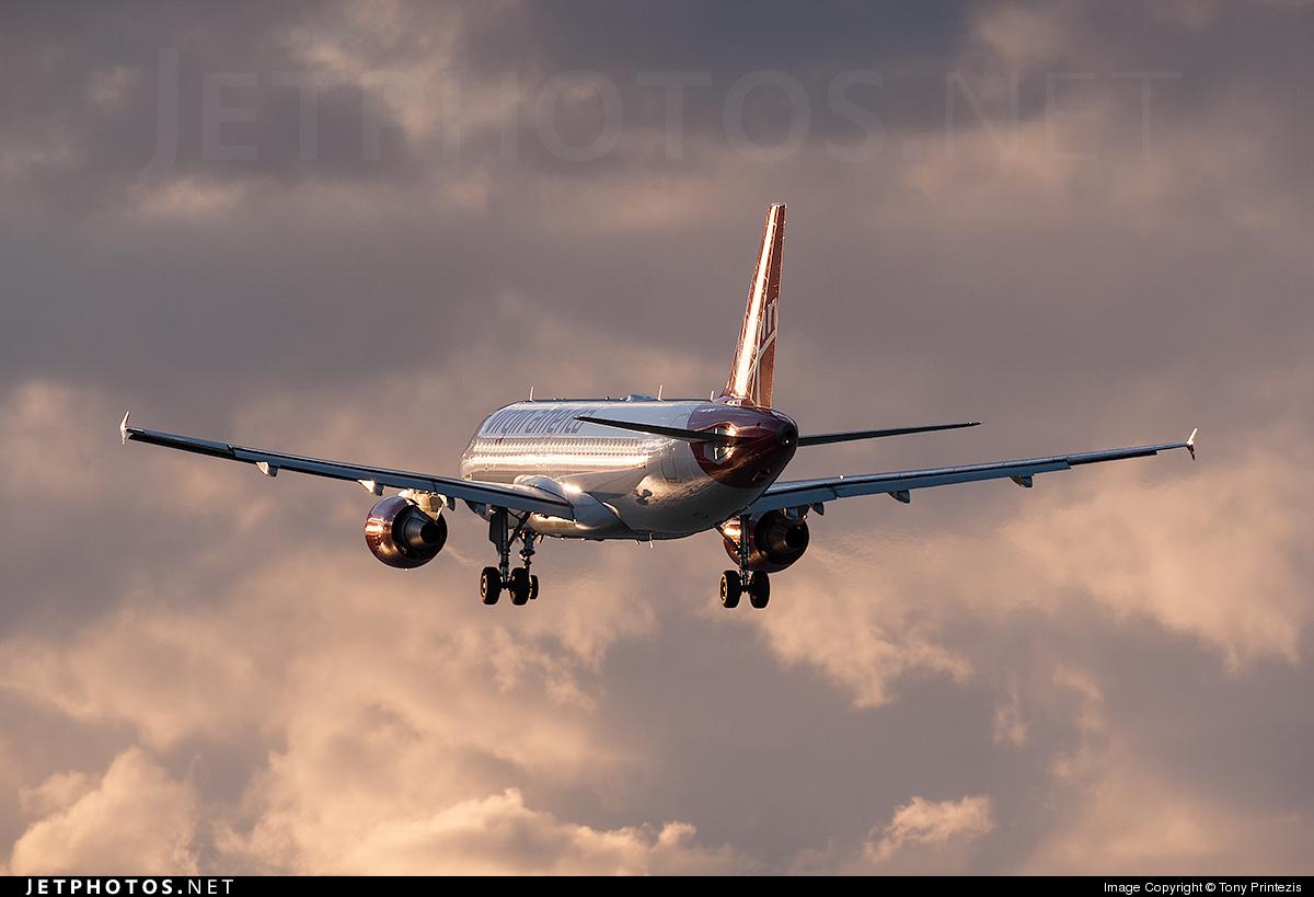 N848VA - Airbus A320-214 - Virgin America