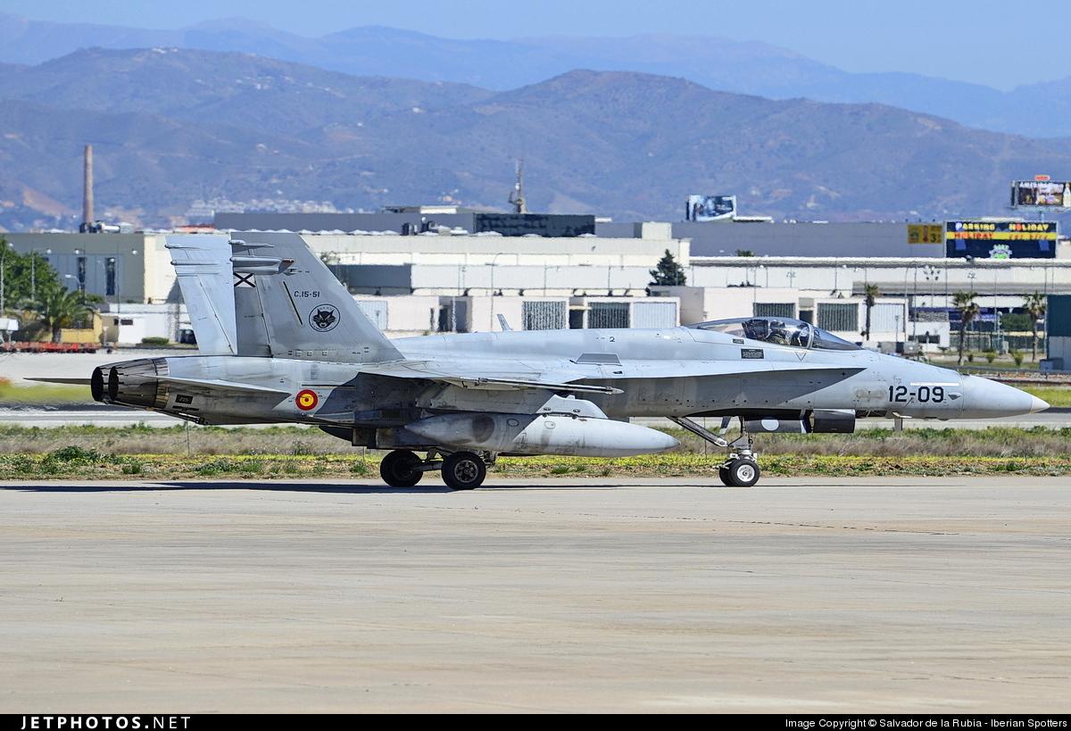 C15-51 - McDonnell Douglas EF-18A Hornet - Spain - Air Force