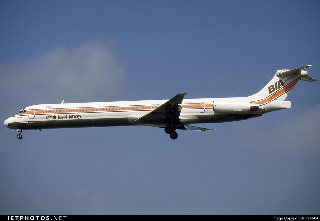 G-BNSA - McDonnell Douglas MD-83 - British Island Airways