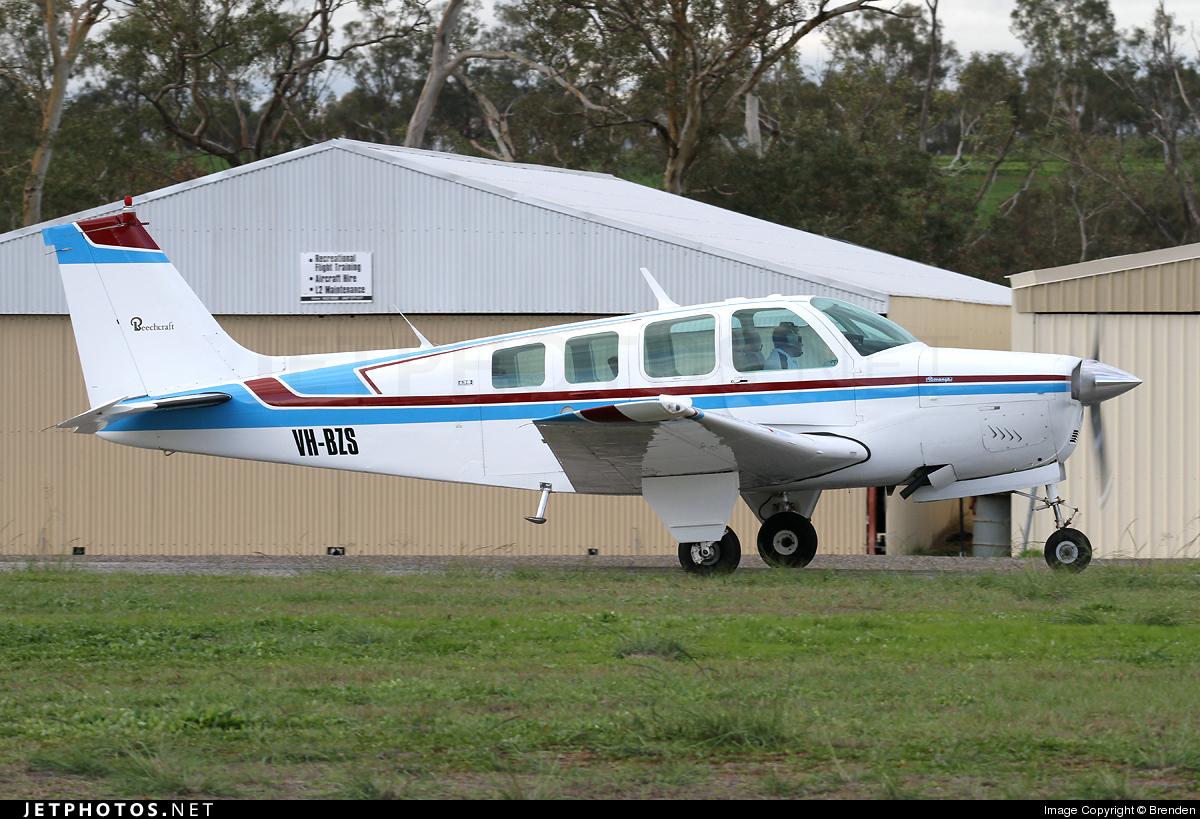 VH-BZS - Beechcraft A36 Bonanza - Private
