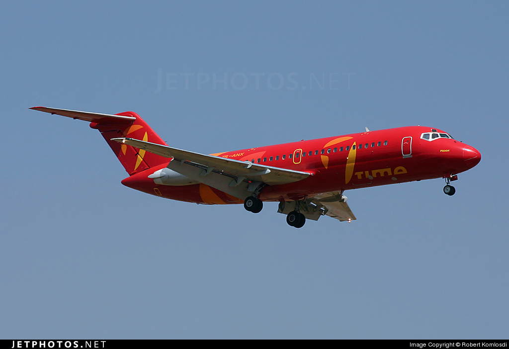 ZS-ANX - McDonnell Douglas DC-9-15 - 1Time Airline