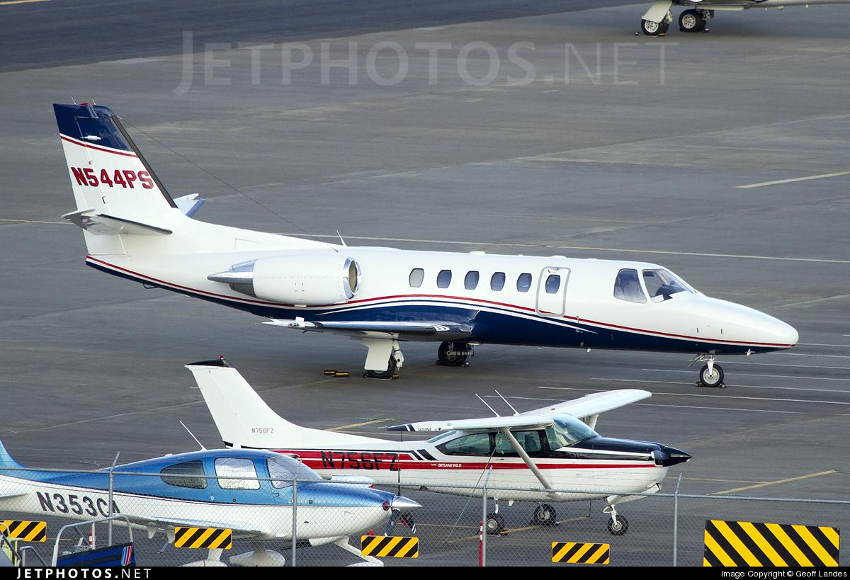 N544PS - Cessna 550 Citation II - Private