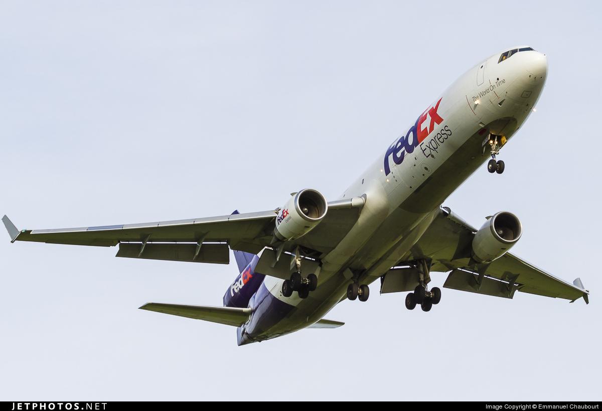N573FE - McDonnell Douglas MD-11(F) - FedEx