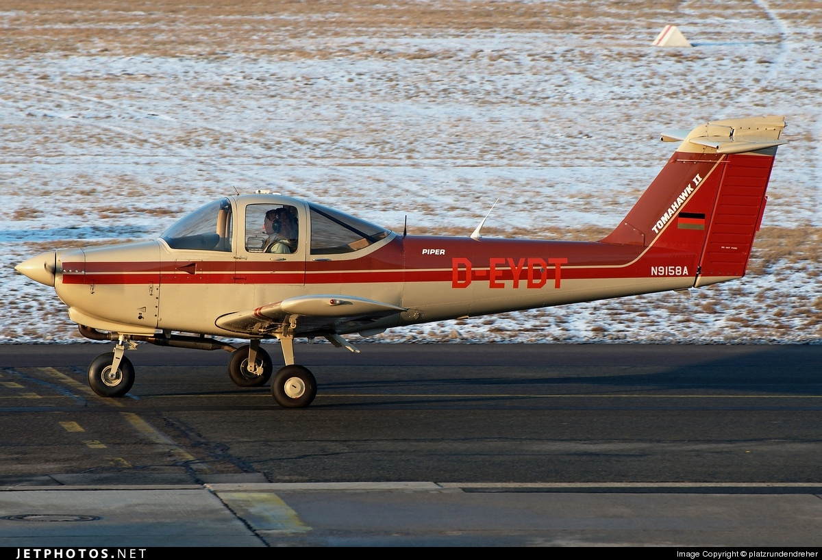 D-EYDT - Piper PA-38-112 Tomahawk II - Private