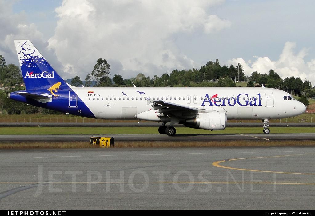 HC-CJV - Airbus A320-214 - AeroGal Aerolíneas Galápagos