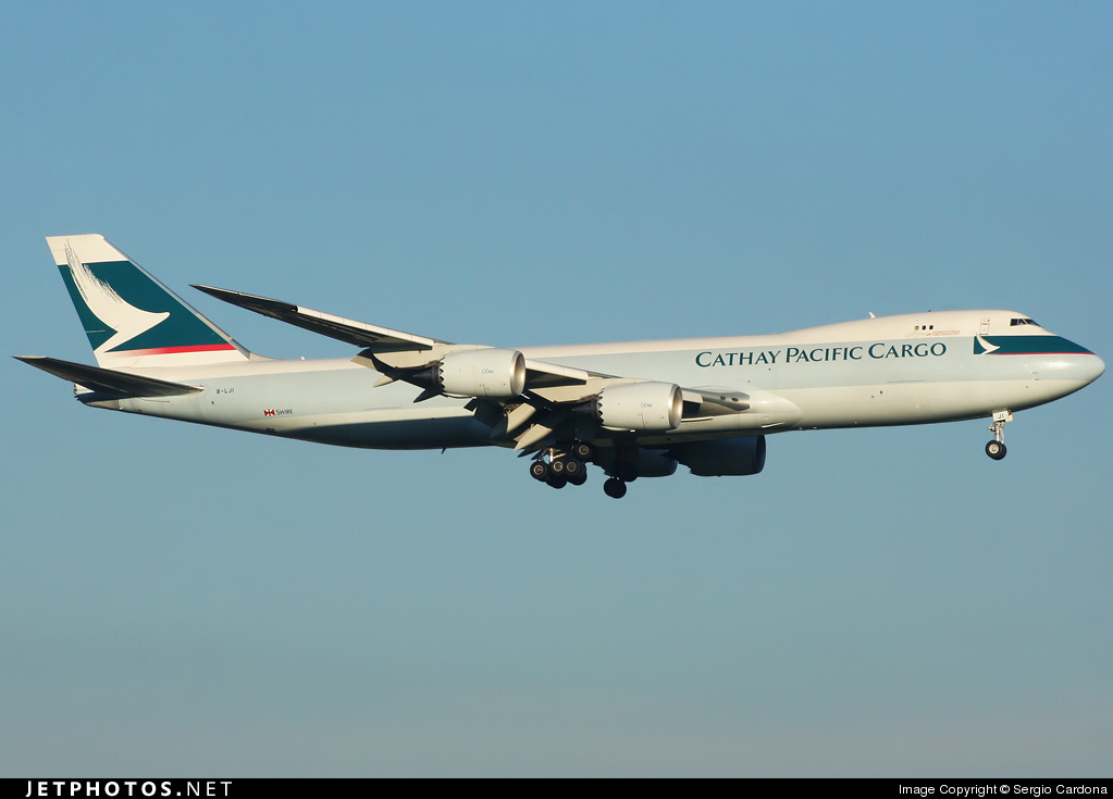B-LJI - Boeing 747-867F - Cathay Pacific Cargo